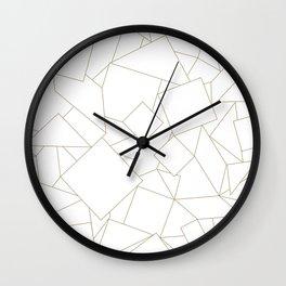 Geometry Patterns Wall Clock