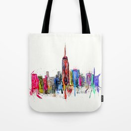 new york inked  Tote Bag