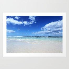 Isla Saona Caribbean Beach Art Print