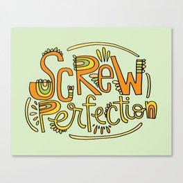 Screw Perfection Canvas Print