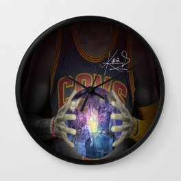 Kyrie = Clutch Wall Clock