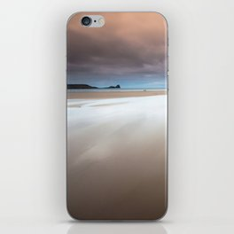 Rhossili bay Gower iPhone Skin