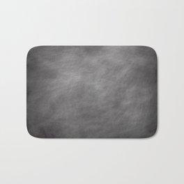 Blackboard dust Bath Mat