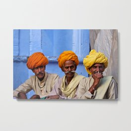 Turban Legends Metal Print