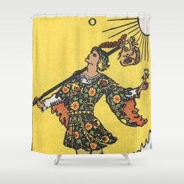 Tarot Card - The Fool Shower Curtain