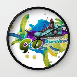 Dance 4 Life Go Carnival Wall Clock