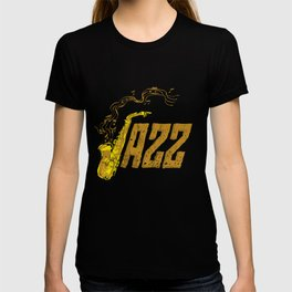 Saxophone Day Jazz Music Band Orchestra Jam Session T-shirt