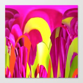 Flowers abstract Canvas Print