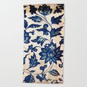 Blue Oriental Vintage Tile 06 by serigraphonart