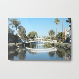 VENICE CANAL HISTORIC DISTRICT Metal Print