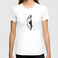 silent T-shirts featuring Silent by Cassandra Jean