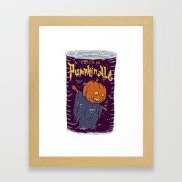 Pumpkin Ale Framed Art Print