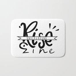 RISE Underground Zine - Logo Bath Mat