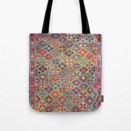 Afshar Varamin North Persian Rug Tote Bag