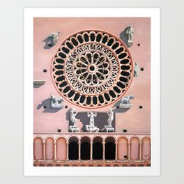 Assisi Cathedral Art Print