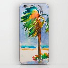 Tropical wind iPhone Skin