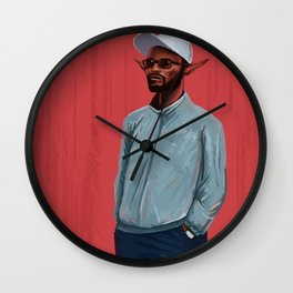 Elfish Fashion Wall Clock