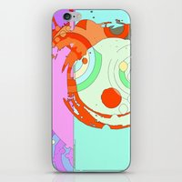 splash iPhone & iPod Skins featuring Splash by Iconic Arts
