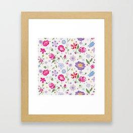 Fragrant Blooms Framed Art Print