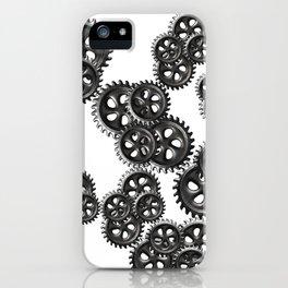 gears grunge iPhone Case