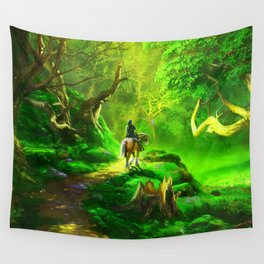 coachman Wall Tapestry