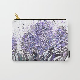Sumie No.13 hyacinth Carry-All Pouch