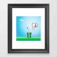 Pipe Dream Framed Art Print