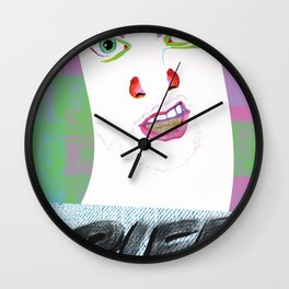 The White Will Smith Wall Clock