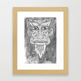 Tribal Zone Framed Art Print