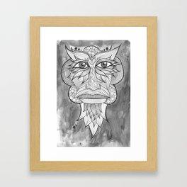 Tribal Zone Framed Art Print