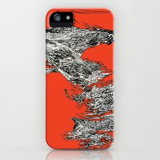 Waterfall in Red iPhone (5, 5s) Slim Case