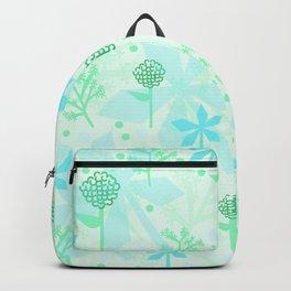 delicate floral pattern Backpack