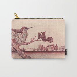 Nested Hummingbird Carry-All Pouch
