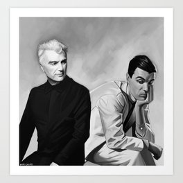 David Byrne Art Print
