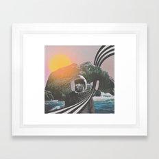 Visiting Framed Art Print