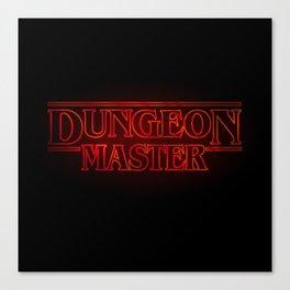 Stranger Dungeon Master Canvas Print
