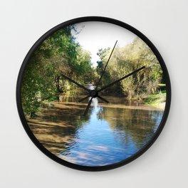 Copeland Creek 2012-11-28 Wall Clock