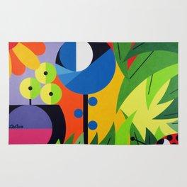Flowers - Paint Rug