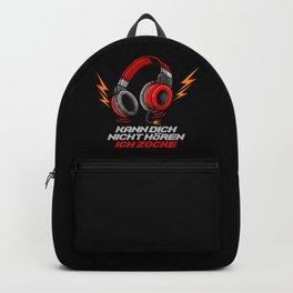 Kann dich nicht hören - Ich zocke - Gaming Gamer Backpack