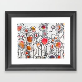Keep Growing Framed Art Print