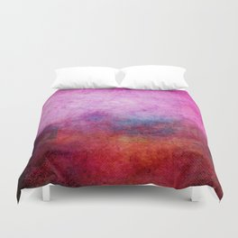 Square Composition X Duvet Cover