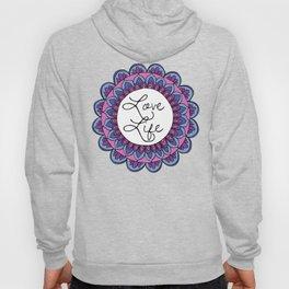 Love Life Mandala Ultraviolet Hoody