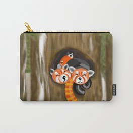 The Sound of Silence: Red Pandas of Nepal Carry-All Pouch