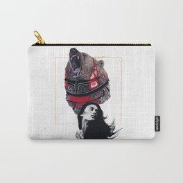 Haida Bear Carry-All Pouch