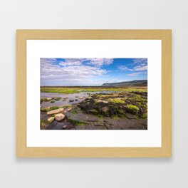 Robin Hood's Bay, North York Moors - England Framed Art Print