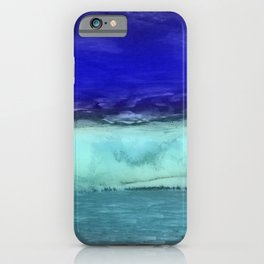 Midnight Waves Seascape iPhone Case