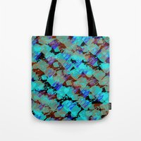 bianca green Tote Bags featuring Bianca by Gonpart