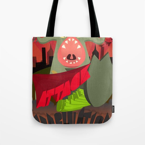 Attack of my Imagination Tote Bag