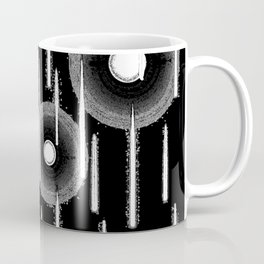 White Drops Coffee Mug