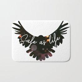 Raven Cycle Safe As Life Bath Mat